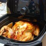 billederesultat for hel kylling i airfryer