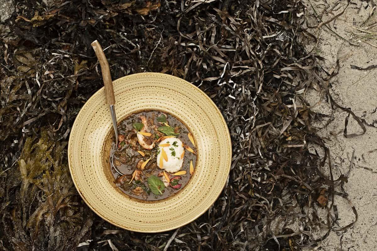 Klassisk Gumbo med krebs fra danske søer