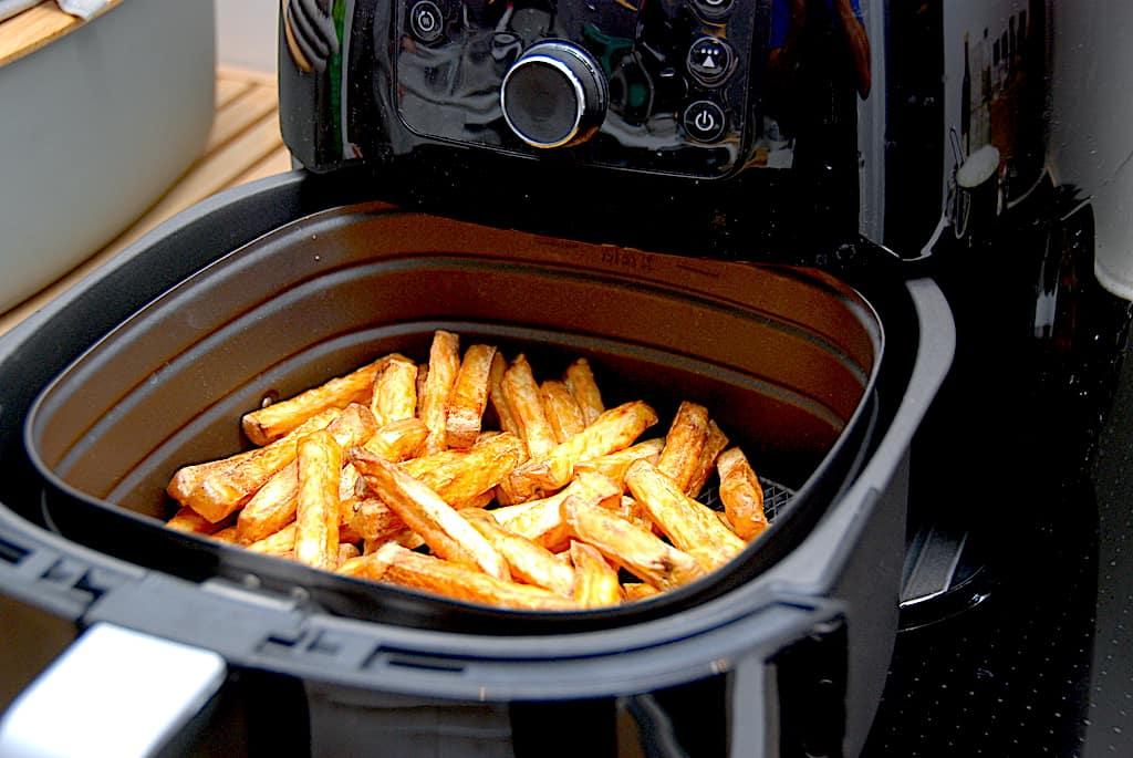 pommes frites i Airfryer