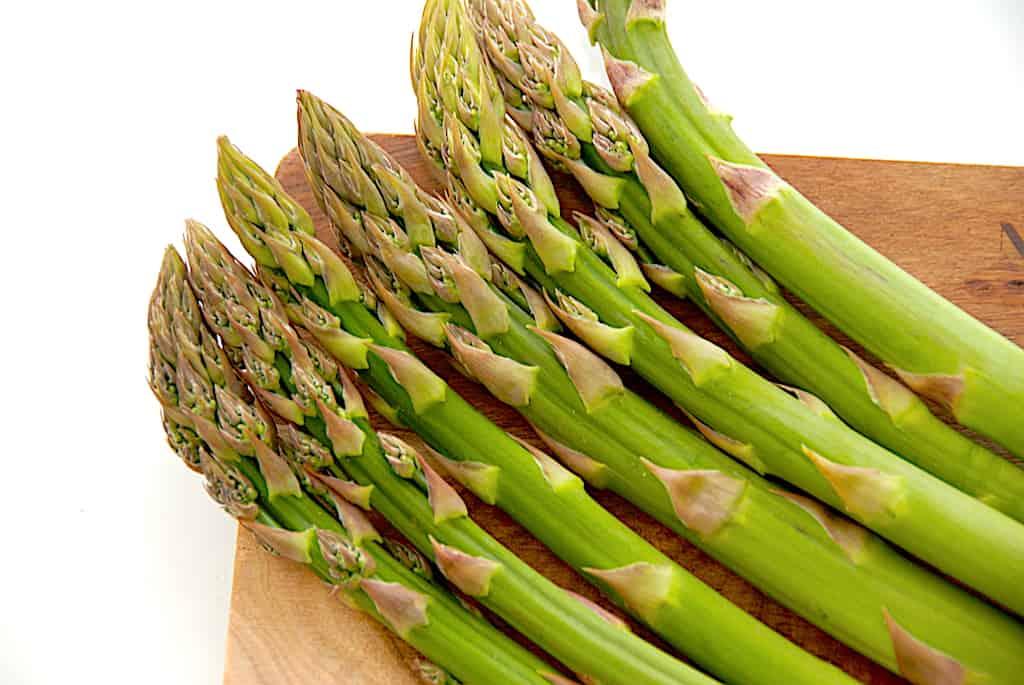 Asparges sous vide - både de grønne og hvide
