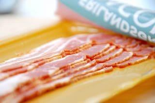 bacon i mikroovn