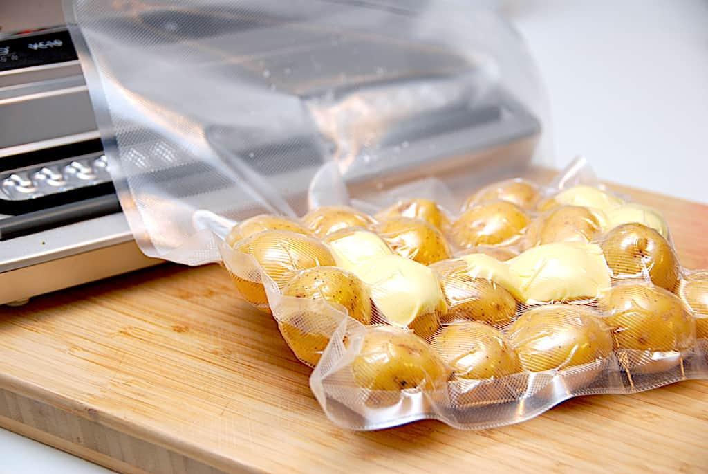 Kartofler sous vide - opskrift med tid og temperatur