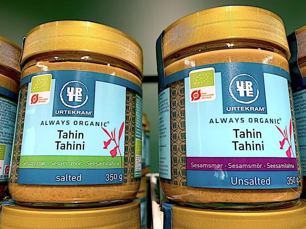 Tahindressing - nem opskrift på dressing med tahin