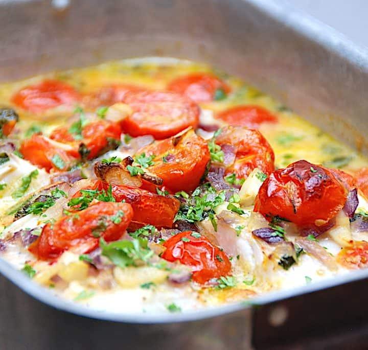 torsk i fad med pasta børnevenlig fiskeret