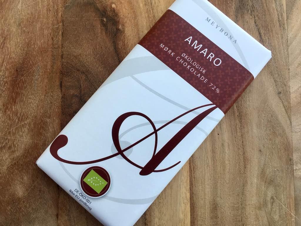 Amaro økologisk mørk chokolade