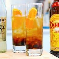 Kahlua Ginger Ale drink