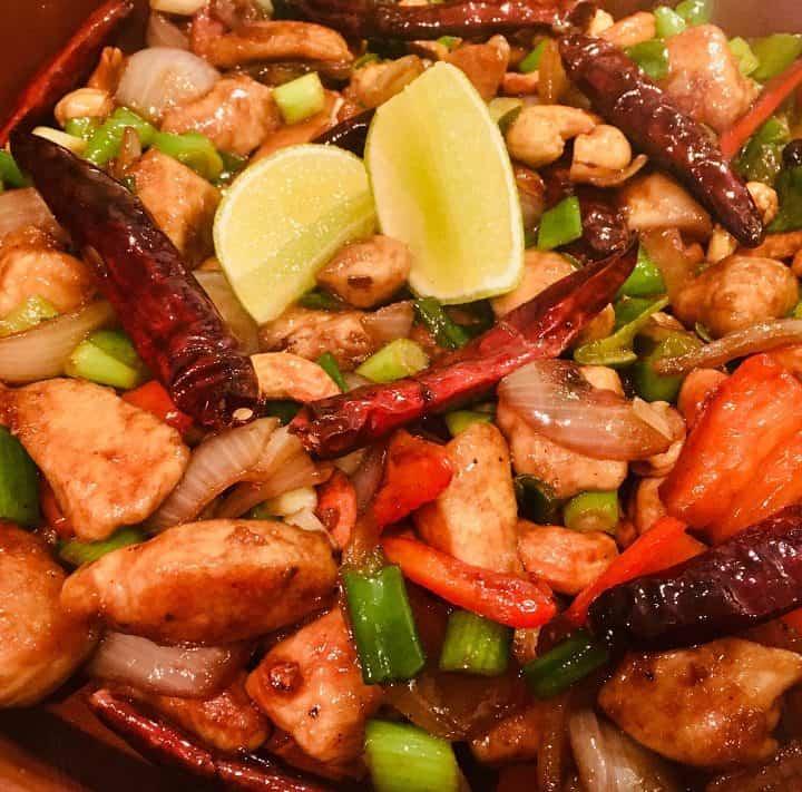 Kylling med cashew middagsret