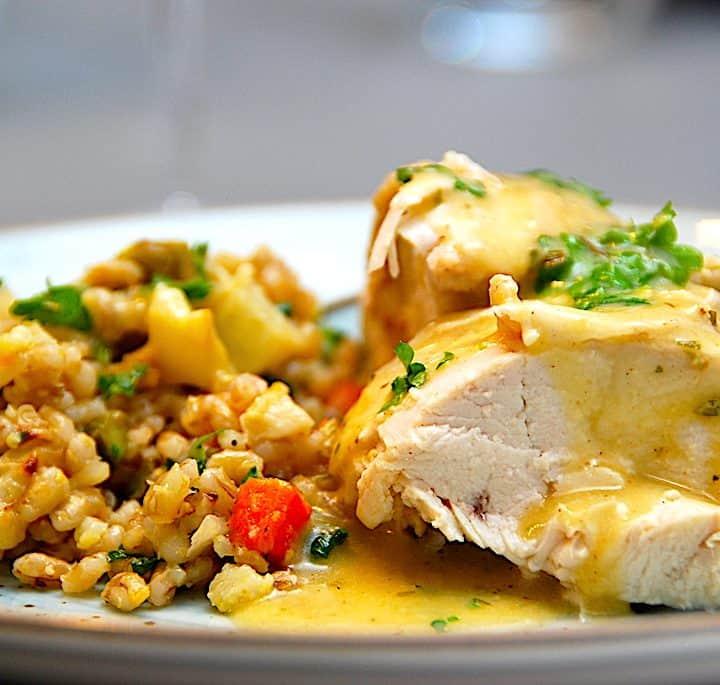 billederesultat for kylling med estragon