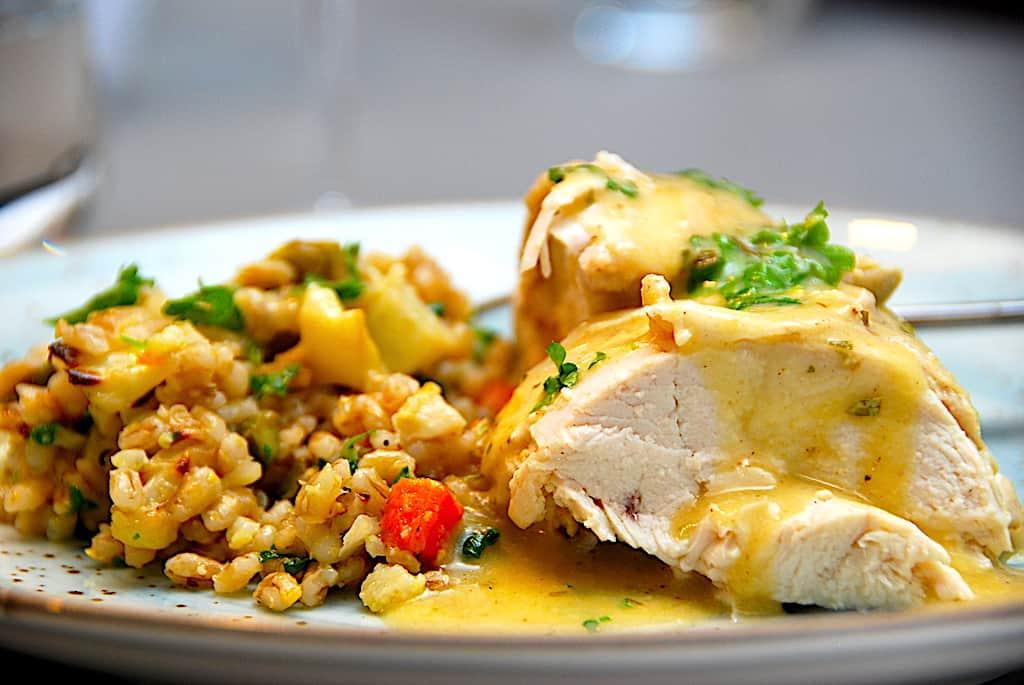 Kylling med estragon (grydekylling på 1 time)