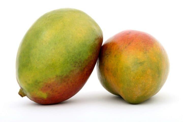 To mango frugter