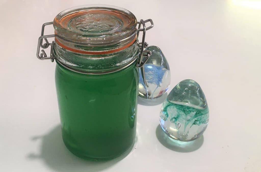Hjemmelavet myntegele - opskrift med lime