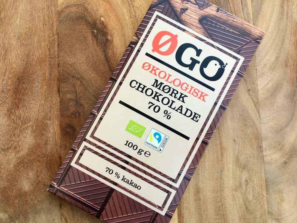 Øgo økologisk mørk chokolade