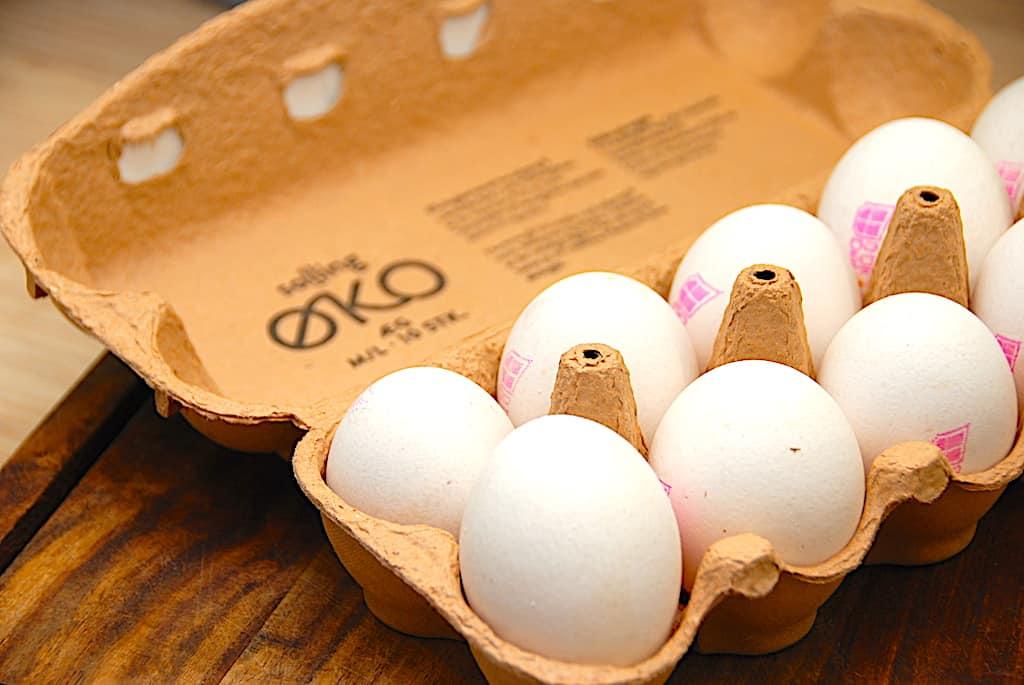 Udenfor kogte køleskab holdbarhed æg Hvor mange