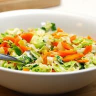 billederesultat for råstegte gulerødder med spidskål