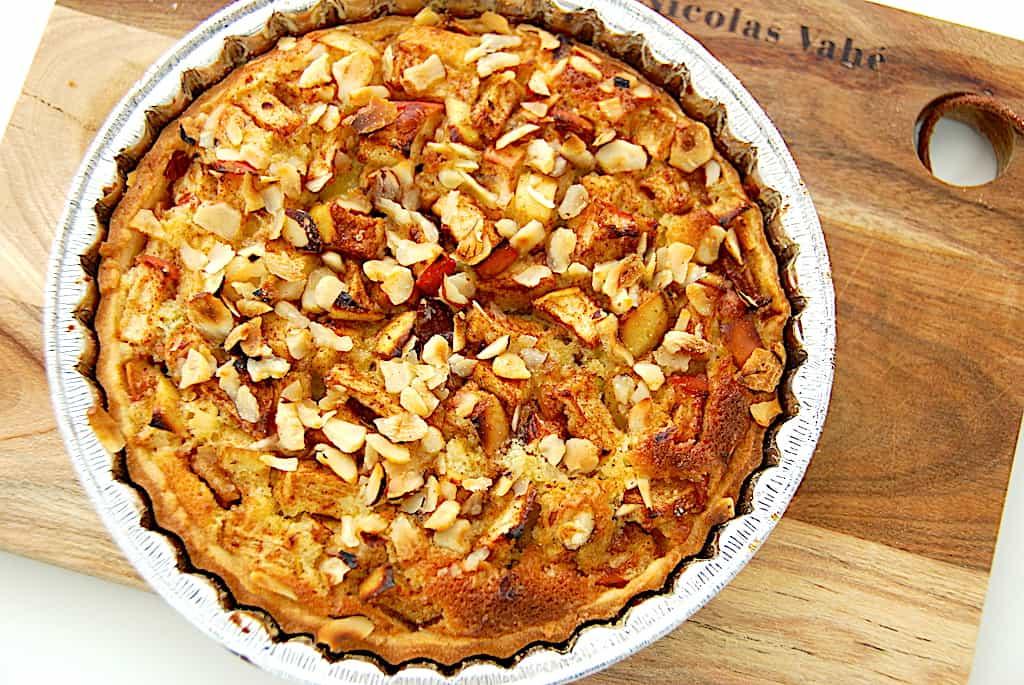 Tærte med æble - hjemmebagt mørdejstærte