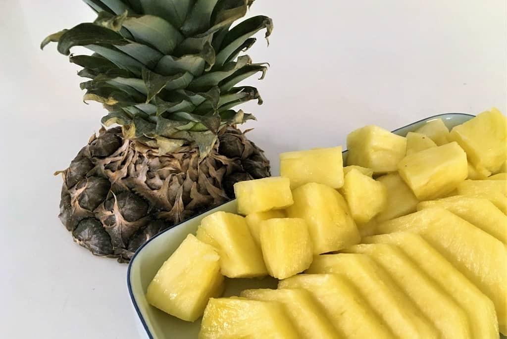 Foto til artikel om at skære en ananas