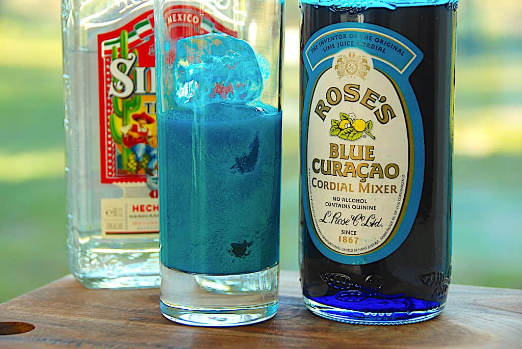 Bamseline - den blå drink, der ligner skyllemiddel