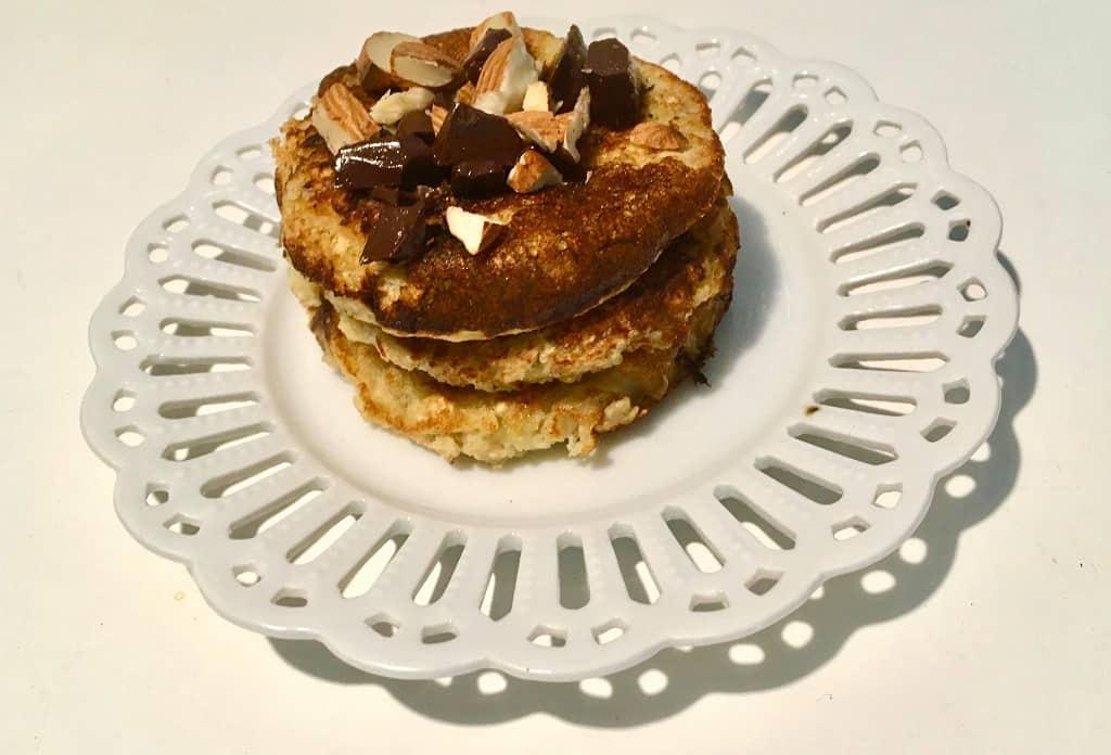 Glutenfri pandekager med mandler