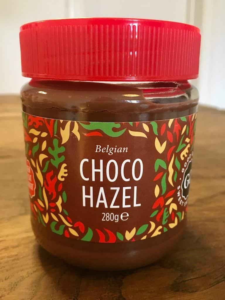 Smagstest af nøddecreme, Belgian Chogo Hazel
