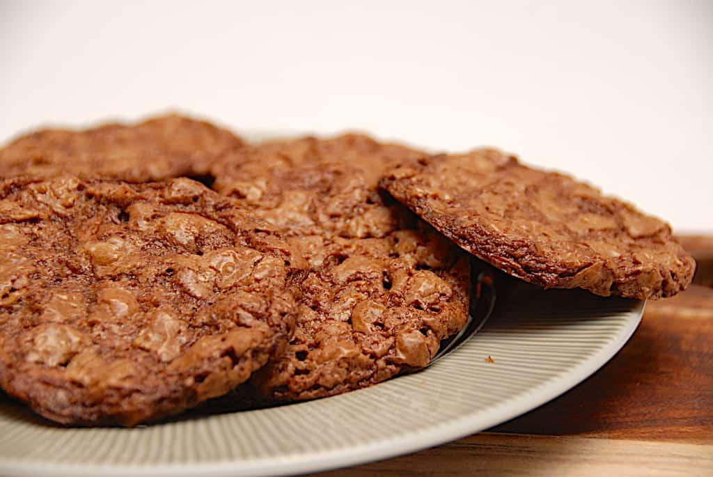 Chokoflager - nem opskrift på småkager med havregryn