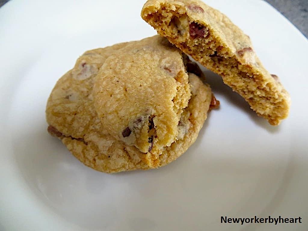 Cookies med Twix chokoladebar