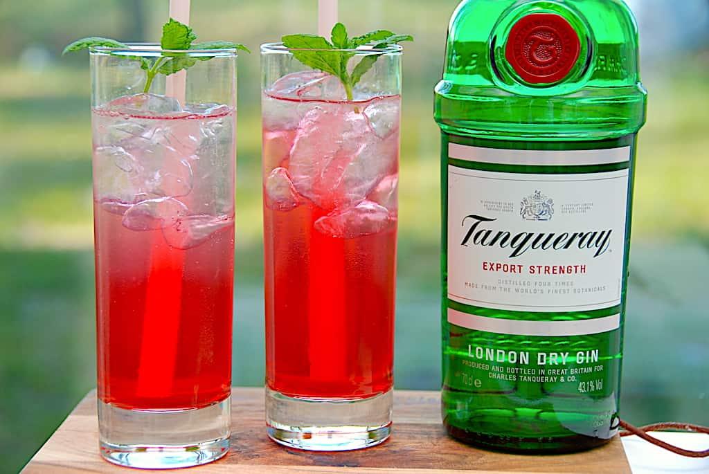 Gin Daisy drink med gin og Grenadine