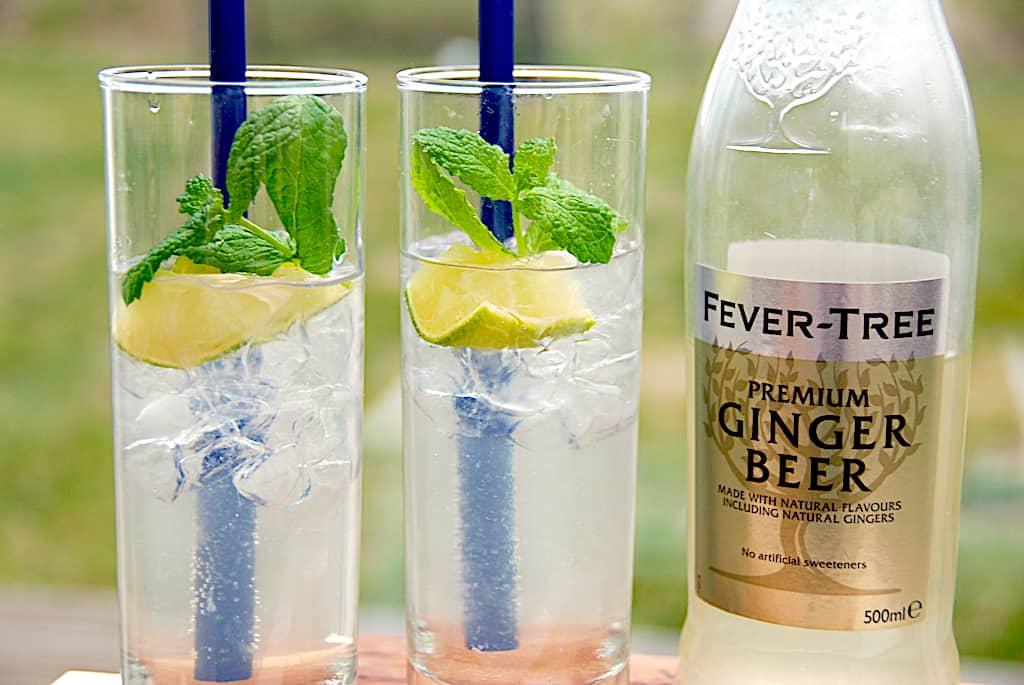 Gin Gin Mule drink - (Ginger Rogers) med Ginger Beer