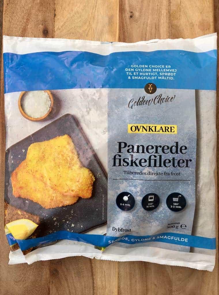 Smagstest af fiskefilet, Golden Choice Panerede fiskefileter