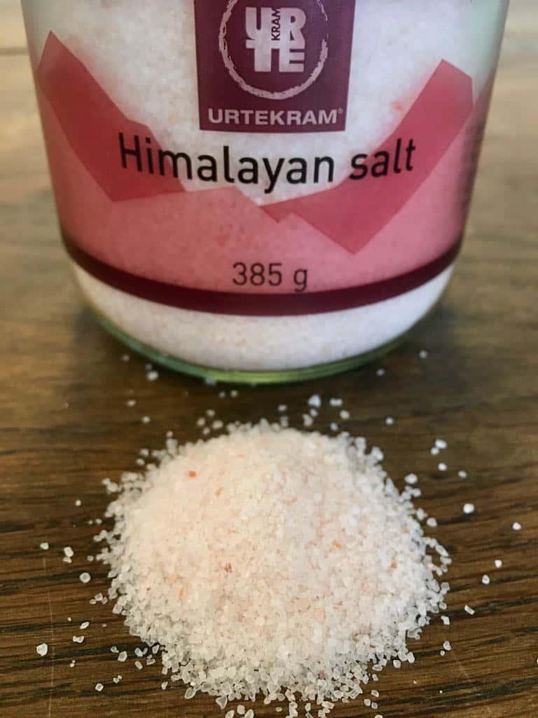 Er der forskel på salt? Himalayan Salt