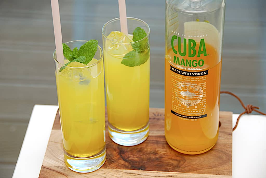 Mango Hazz - drink med Cuba Mango og lemonvand