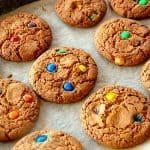 billederesultat for M&M cookies med chokoladeknapper