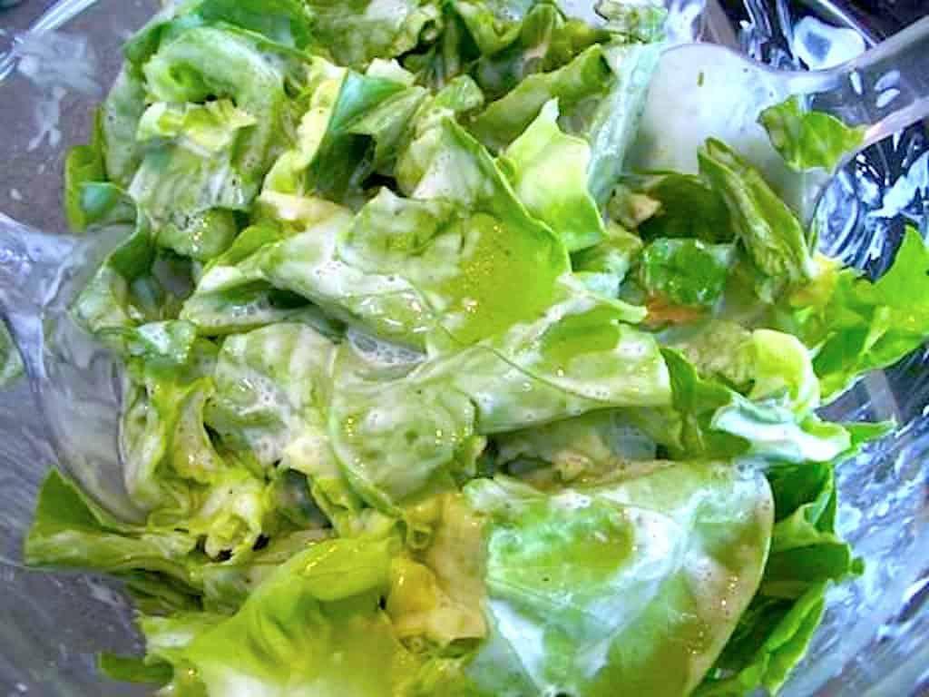 Mormor salat opskrift med fløde og citron