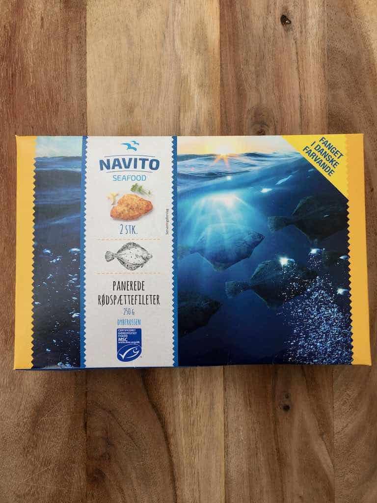 Smagstest af fiskefilet, Navito Panerede rødspættefileter