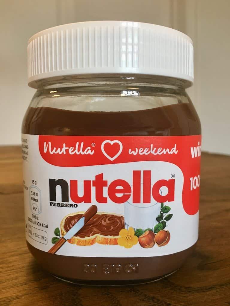 Smagstest af nøddecreme, Nutella