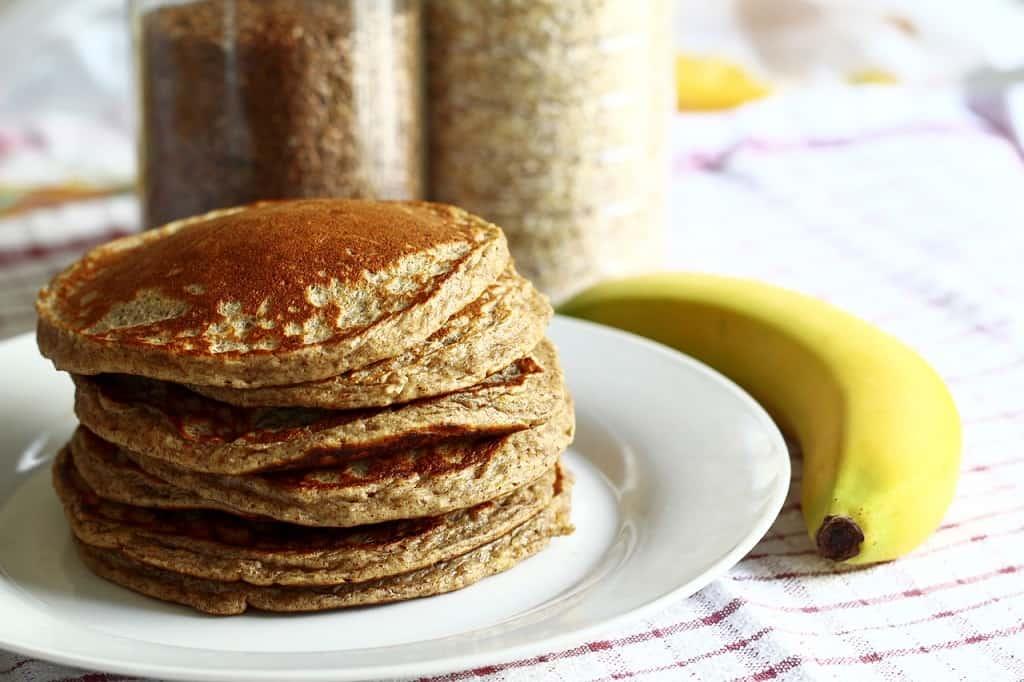 Glutenfri pandekager med banan - gyldne og gode