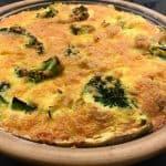 Porretærte med broccoli efter ovn