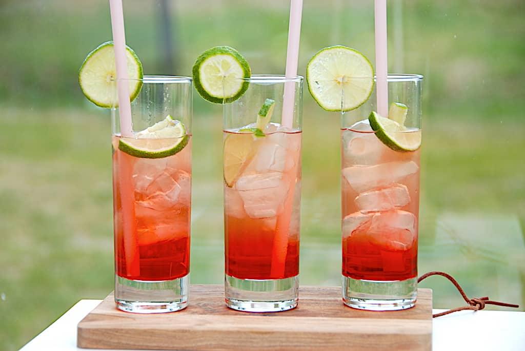Shirley Tempel alkoholfri drink med Ginger Ale