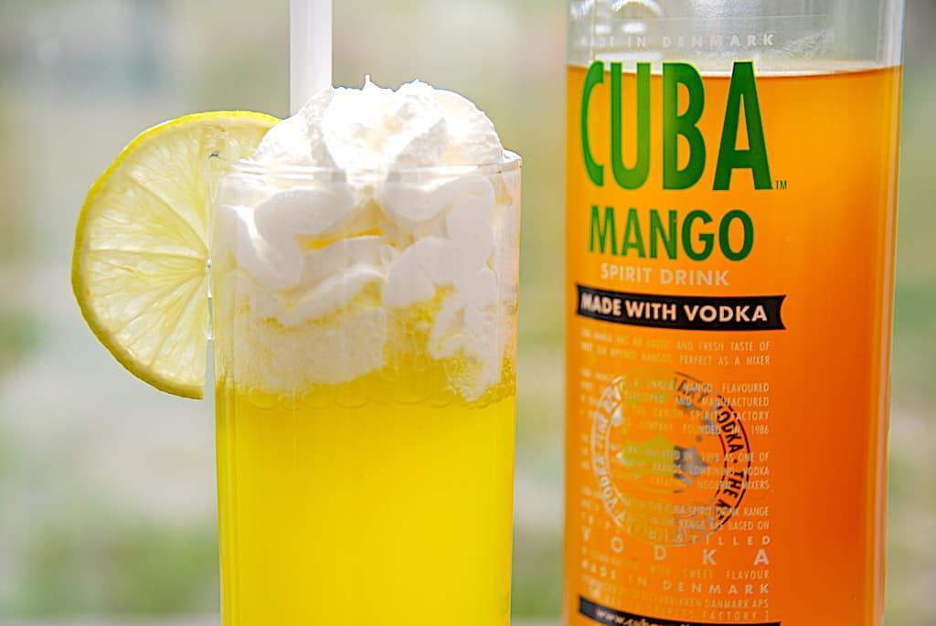 Solero Exotic drink med Cuba Mango og Sprite
