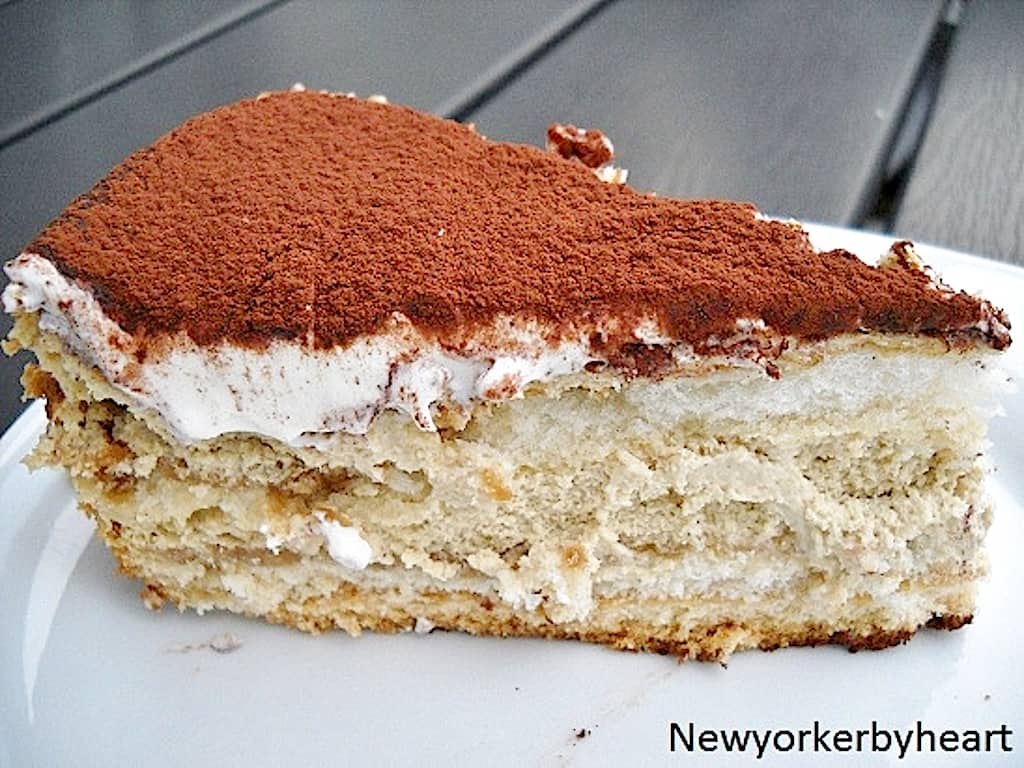 Tiramisu cheesecake a la Newyorker By Heart