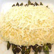 gratinerede asparges med aspargescreme