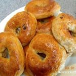 hjemmelavede bagels