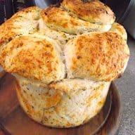 Hvidløgs pull-apart brød