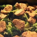 mørbradfad med grøntsager