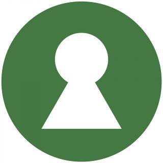 Nøglehulsmærket er Danmarks officielle ernæringsmærke, der kan hjælpe dig til at finde de sundere fødevarer. Se efter det grønne mærke med nøglehullet, når du handler ind.