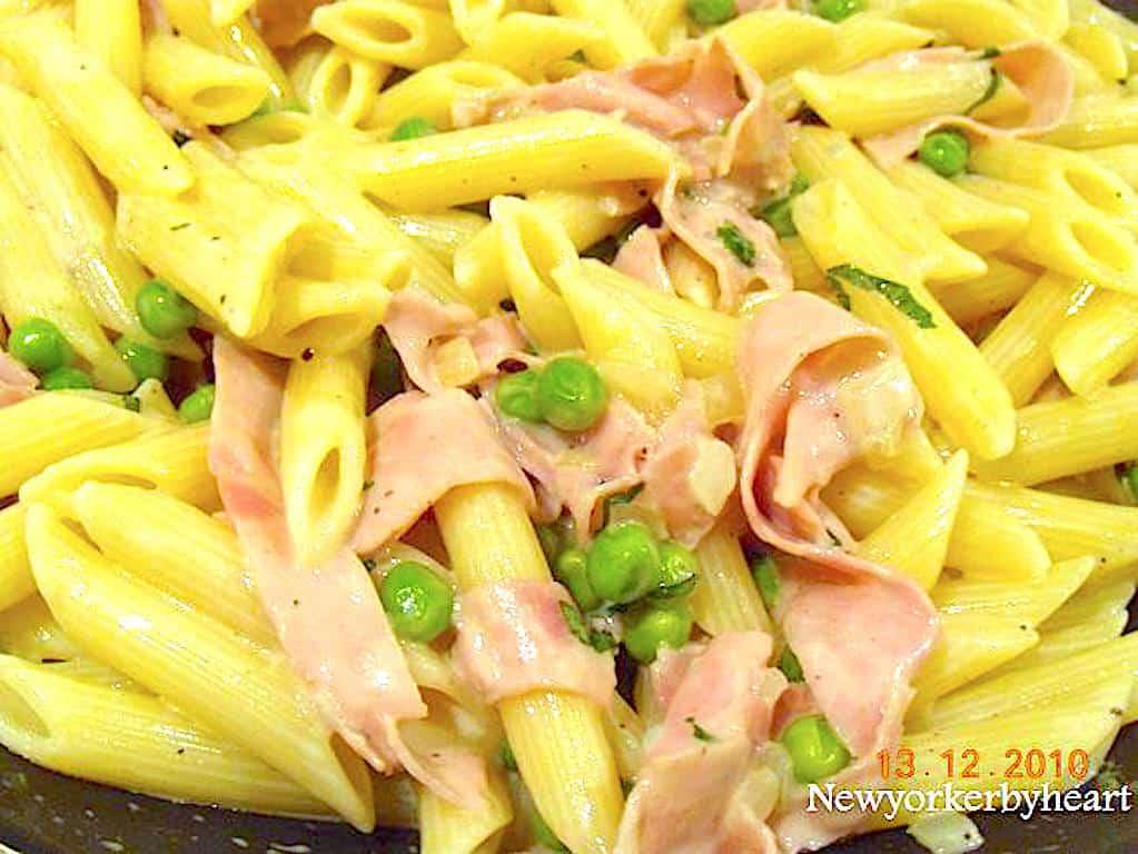 pasta med gorgonzola