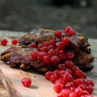 Ribben med ribs - mad over bål