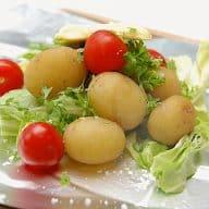 billede med kartofler i folie
