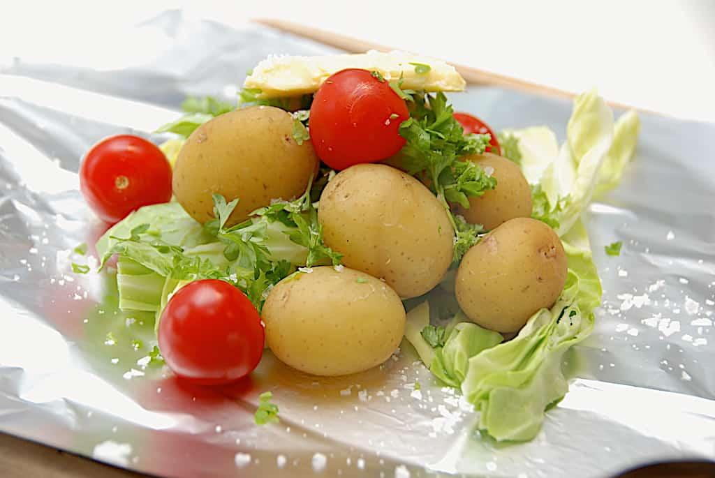 Kartofler i folie til grill eller ovn (nemme kartoffelpakker)