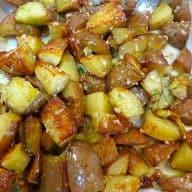 billede med kartofler med parmesan