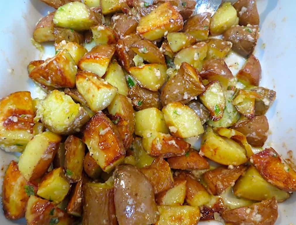 Kartofler med parmesan og citron (nemme ovnkartofler)